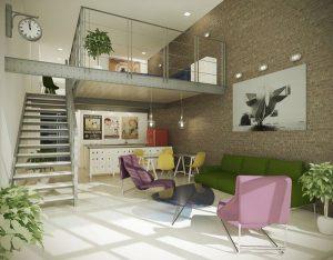 Grandiosos Mezzanines funcionales para tu hogar