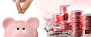 Dinero y alcancía