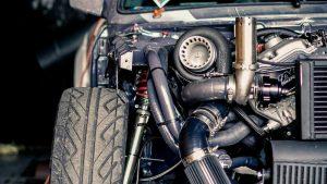 motor con turbocargador