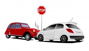 choque de dos automóviles