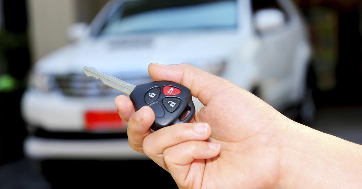 Alarma para el robo de auto